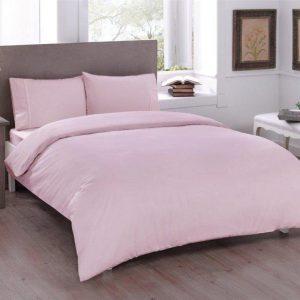 Постельное белье ТМ TAC Basic Pink Ранфорс 200×220