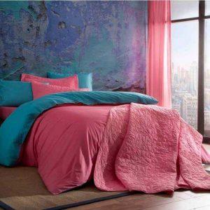 Постельное белье ТМ TAC Colorful Pink Ранфорс 200×220