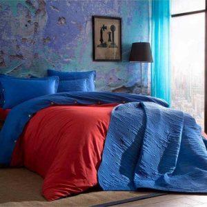 Постельное белье ТМ TAC Colorful Red Ранфорс 200×220
