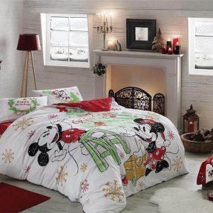 купить Постельное белье ТМ TAC Disney M&M Yeni Yil 200x220
