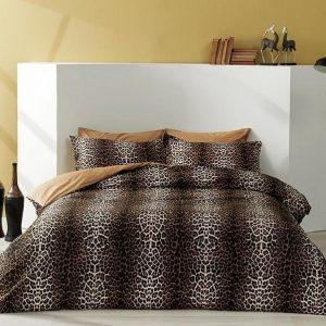 купить Постельное белье ТМ TAC Leopard Сатин Delux 200x220