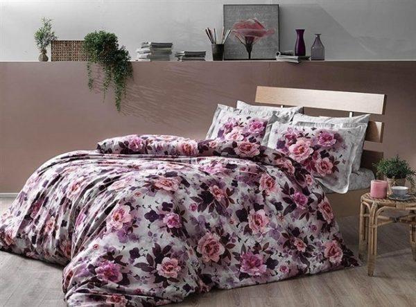 купить Постельное белье ТМ TAC Octavia Сатин Digital 160x220 (2 шт)