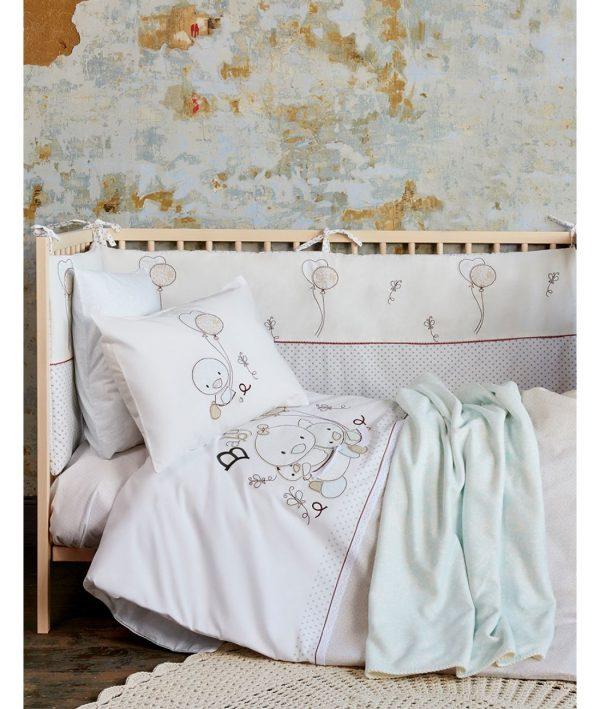 купить Постельное белье для младенцев Karaca Home - Baby Ducks 2017-1 100x150