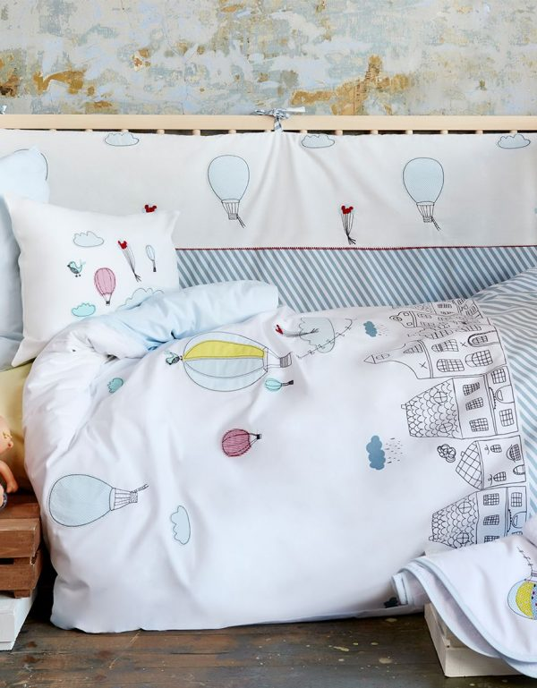 купить Постельное белье для младенцев Karaca Home - Balloon 2018-1 100x150