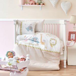 Постельное белье для младенцев Karaca Home – Playmate 2018-1 100×150