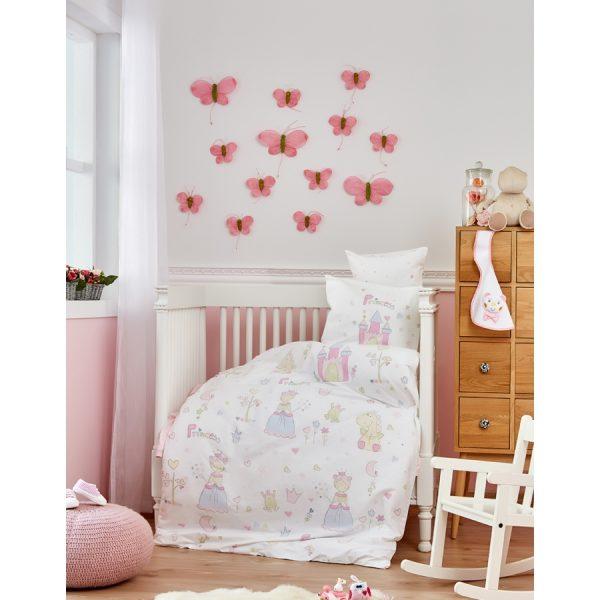 купить Постельное белье для младенцев Karaca Home - Princes 2018-1 100x150