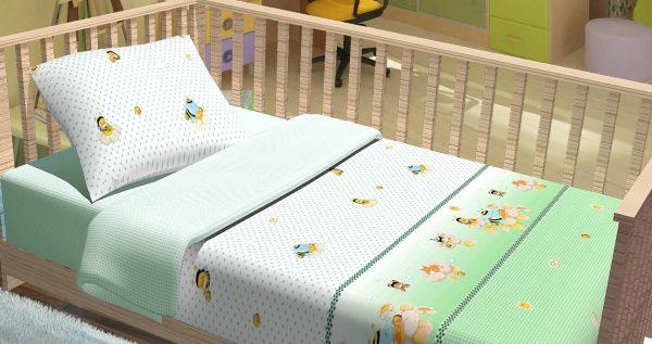 купить Постельное белье для младенцев Kidsdreams - Компашка 100x150
