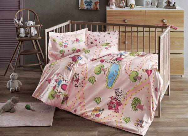 купить Постельное белье для младенцев TAC Disney - Princess pembe розовый 100x150