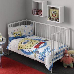 Постельное белье для новорожденных ТМ TAC Sponge Bob Baby 100×150