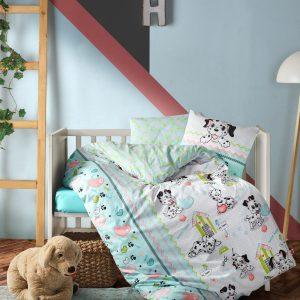 Постельное белье для новорожденных Cotton Box Dalmacyali 100×150