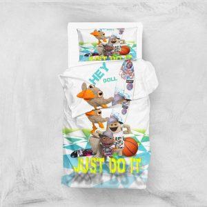 Постельное белье для подростков Eponj Home 3D Micro Satin – Hey Beyaz 160×220