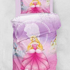 Постельное белье для подростков Eponj Home 3D Micro Satin – Leena Lila 160×220