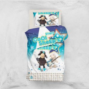 Постельное белье для подростков Eponj Home 3D Micro Satin – Sheeps Mavi 160×220