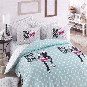 Постельное белье для подростков Eponj Home – Boston Mint 160×220