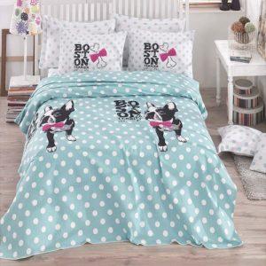 Постельное белье для подростков Eponj Home Pike – Boston mint 160×235