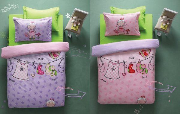 купить Постельное белье для подростков Karaca Home - Molly 180x230