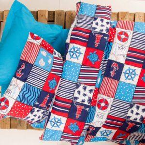 Постельное белье для подростков Lotus Premium B&G – Marine синий 145×210