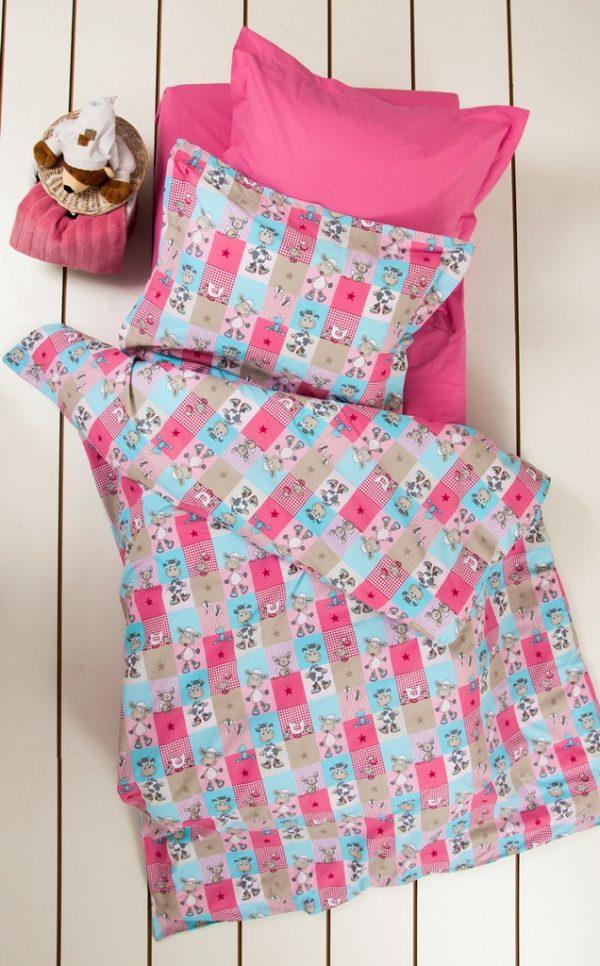 купить Постельное белье для подростков Lotus Premium B&G - Sweetie розовый 145x210