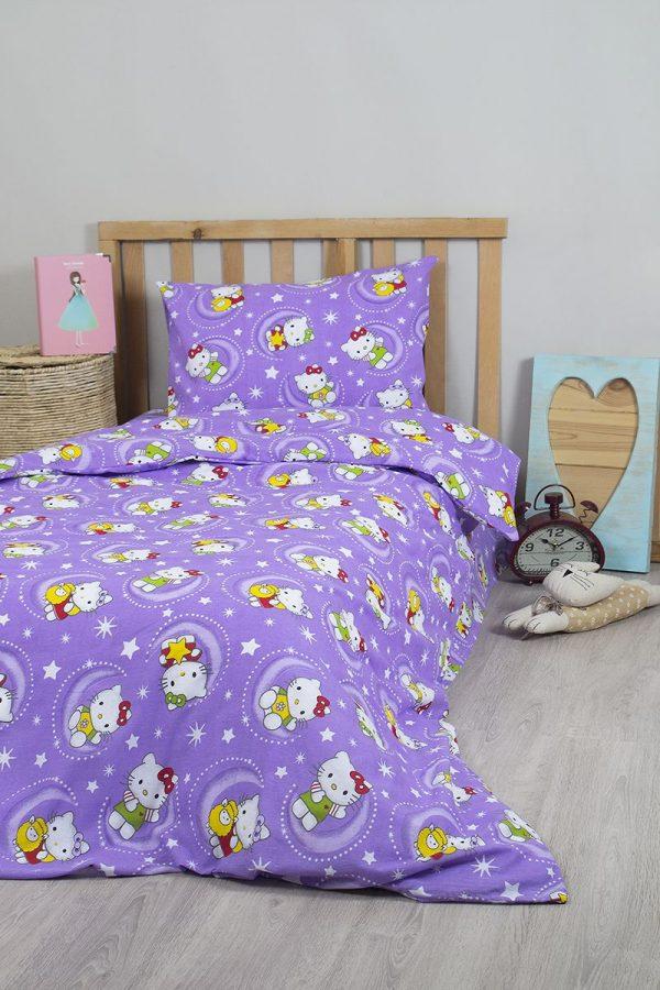 купить Постельное белье для подростков Lotus Young - Hello Kitty Star V2 145x210