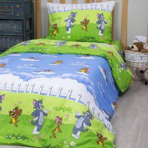 купить Постельное белье для подростков Lotus Young - Tom & Jerry 145x210