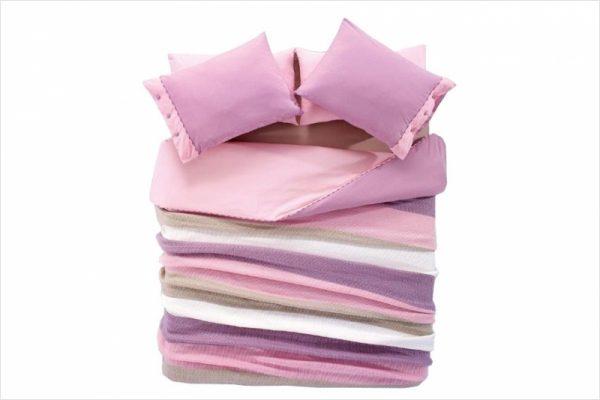купить Постельное белье с пледом Amour Paris - Розово- сиреневое 200x220
