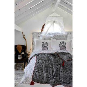 Постельное белье с пледом Karaca Home Dream Catcher 2019-1 200×220