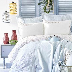 Постельное белье с покрывалом Пике Karaca Home – Nelya nar cicegi 2018-2 200×220