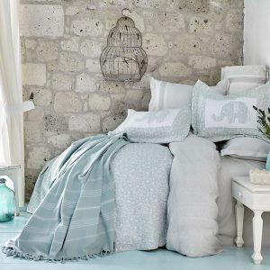 Постельное белье с покрывалом и Пике Karaca Home – Zilonis su yesil 2019-2 200×220