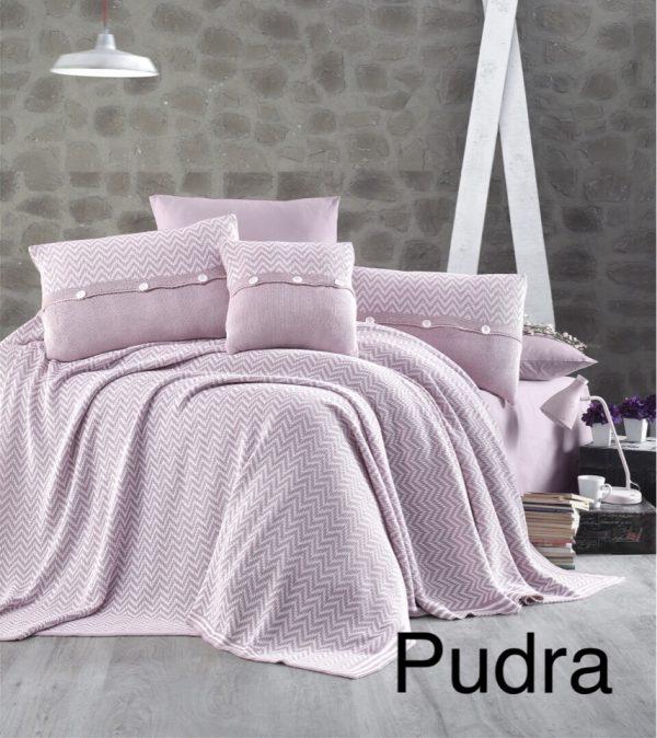 купить Постельное белье с покрывалом First Choice nirvana excellent pudra (324) 200x220