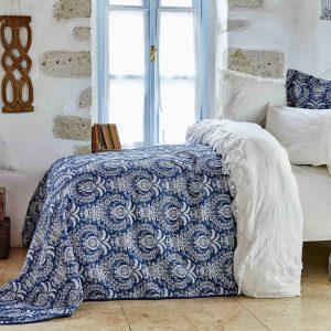 купить Постельное белье с покрывалом Karaca Home Elina beyaz 2018-2 200x220