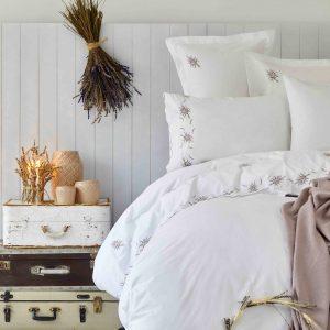 Постельное белье с покрывалом Karaca Home – Lalita lila 2019-1 200×220
