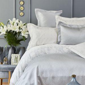 Постельное белье с покрывалом Karaca Home – Nora mavi 2019-1 200×220