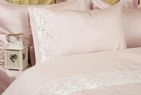 купить Постельное белье Amour Paris - Via Rose пудра 200x220