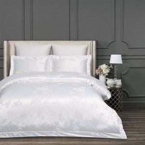 купить Постельное белье Arya Royalty Agota Белый 200x220