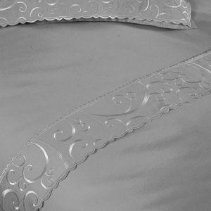 Постельное белье Begonville Lindau сатин 200×220