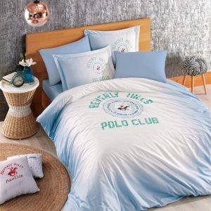 Постельное белье Beverly Hills Polo Club – BHPC 019 Blue 200×220