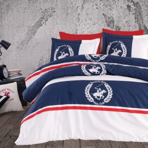 Постельное белье Beverly Hills Polo Club – BHPC 101 Dark Blue 200×220