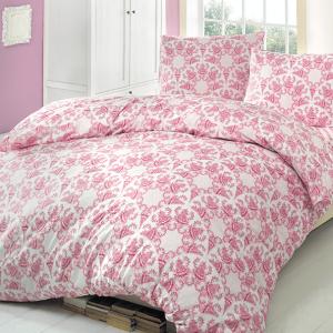 Постельное белье Brielle 704 V1 Pink PVC 160×220