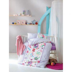 купить Постельное белье Cotton Box для новорожденных Deniz Kizi Lila 100x150