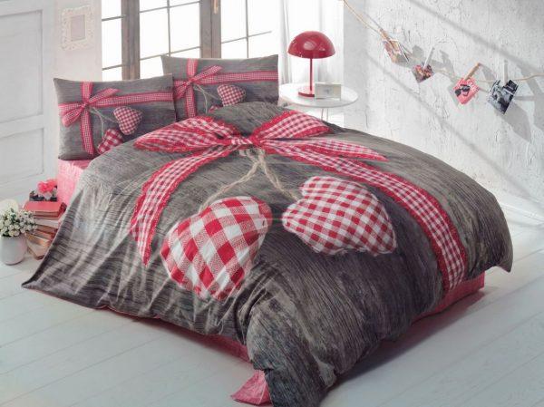 купить Постельное белье Cotton Box 3D LOVEBOX KIRMIZI 200x220