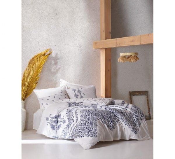 купить Постельное белье Cotton Box Adonis Indigo 200x220
