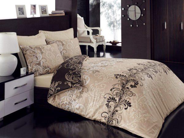 купить Постельное белье Cotton Box CEMILE  BEJ 200x220