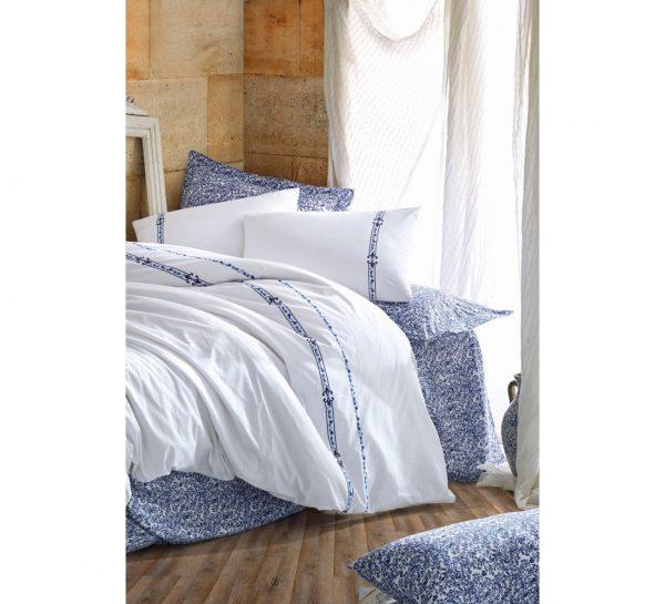купить Постельное белье Cotton Box Delmor Lacivert 200x220