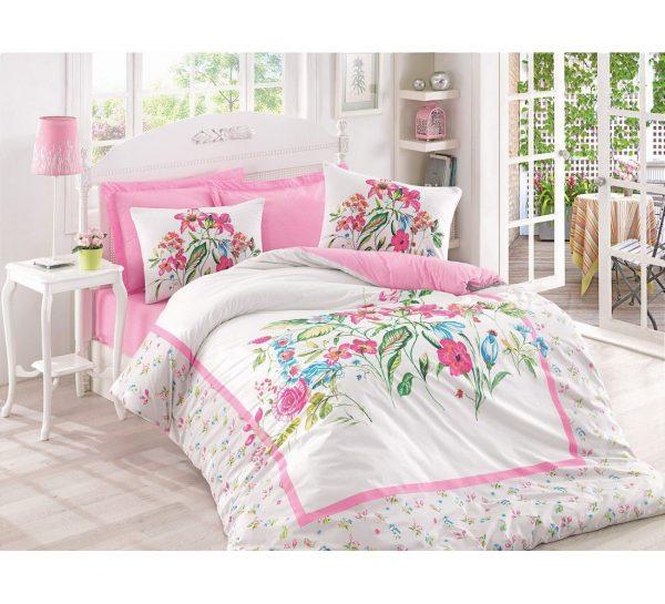 купить Постельное белье Cotton Box MEHSIMA PEMBE 200x220