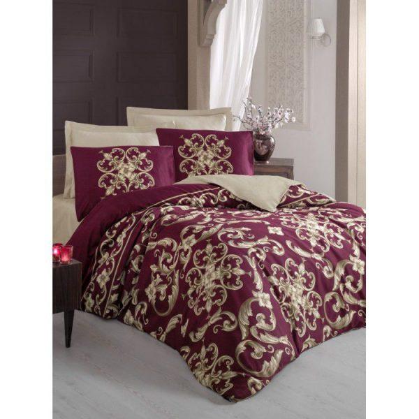 купить Постельное белье Cotton Box Royal TAYLOR KIRMIZI 200x220