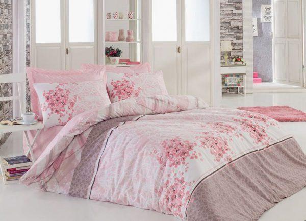 купить Постельное белье Cotton Box SONYA PUDRA 200x220