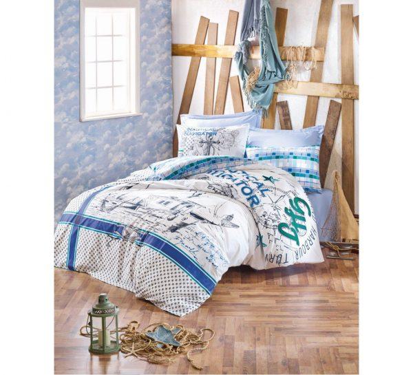 купить Постельное белье Cotton Box VIRA YESIL 200x220