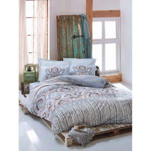 Постельное белье Cotton Box Verona Mavi 200×220