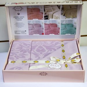 купить Постельное белье Deco Bianca сатин жаккард jk16-01 lila 200x220