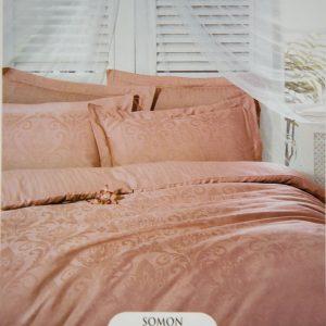 купить Постельное белье Deco Bianca сатин жаккард jk16-03 somon 200x220